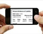 Electronic Car Insurance ID Card