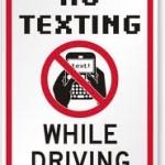 Sending A Text To A PA Driver
