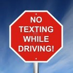 Texting while driving will raise your Oregon Car Insurance