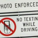 Texting while driving is against the law